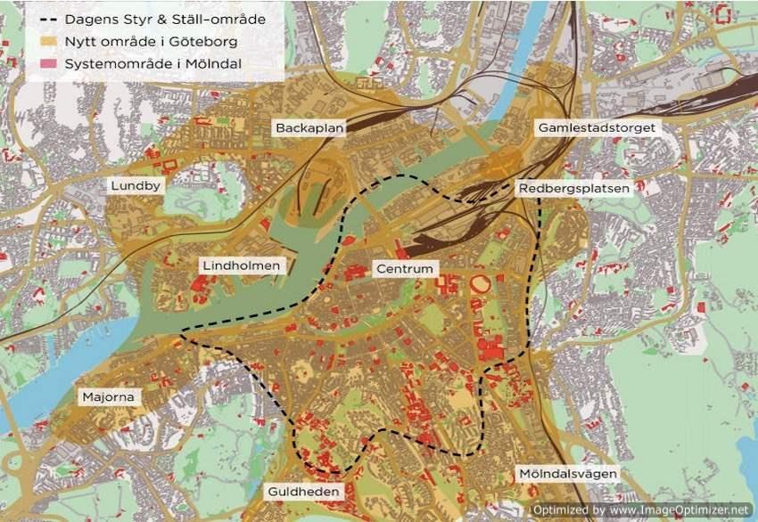 Karta Over Betalstationer Goteborg