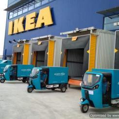 Världens första IKEA gasstation invigdes i finländska Esbo